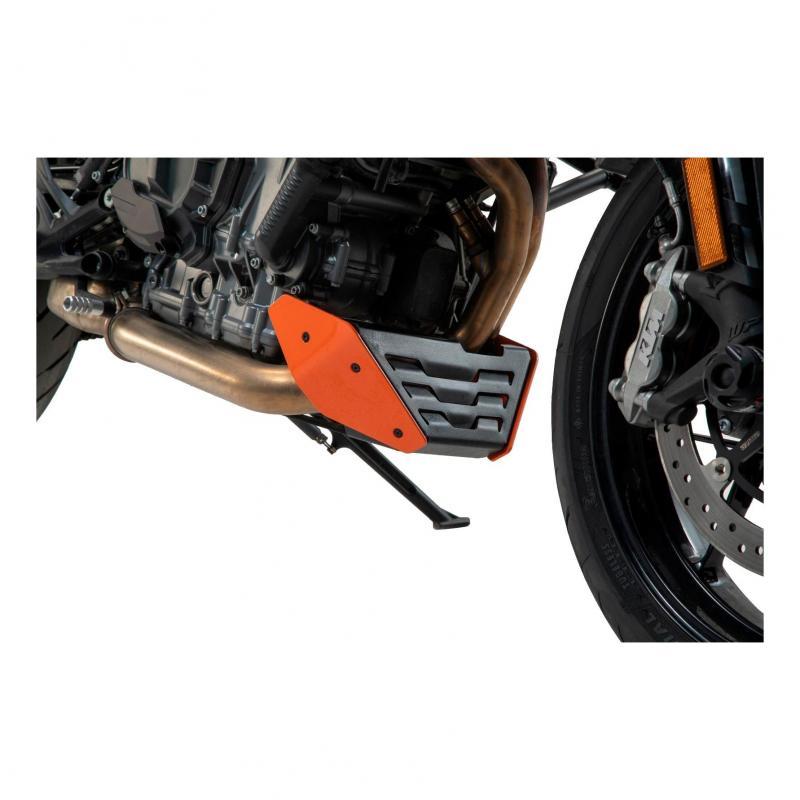 Sabot moteur SW-Motech orange KTM 790 Duke 2018