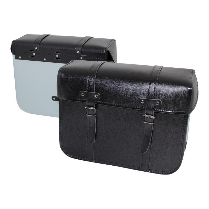 Sacoches Sporfabric R50 dos métal noir