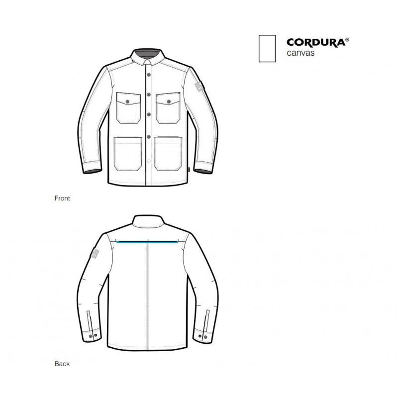 Sur-chemise Rev'it Worker noir - 2