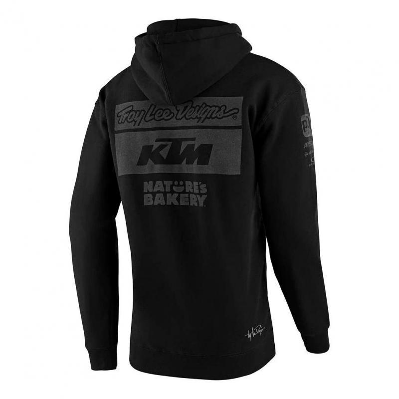 Sweat à capuche Troy Lee Designs Team KTM 2020 noir - 1