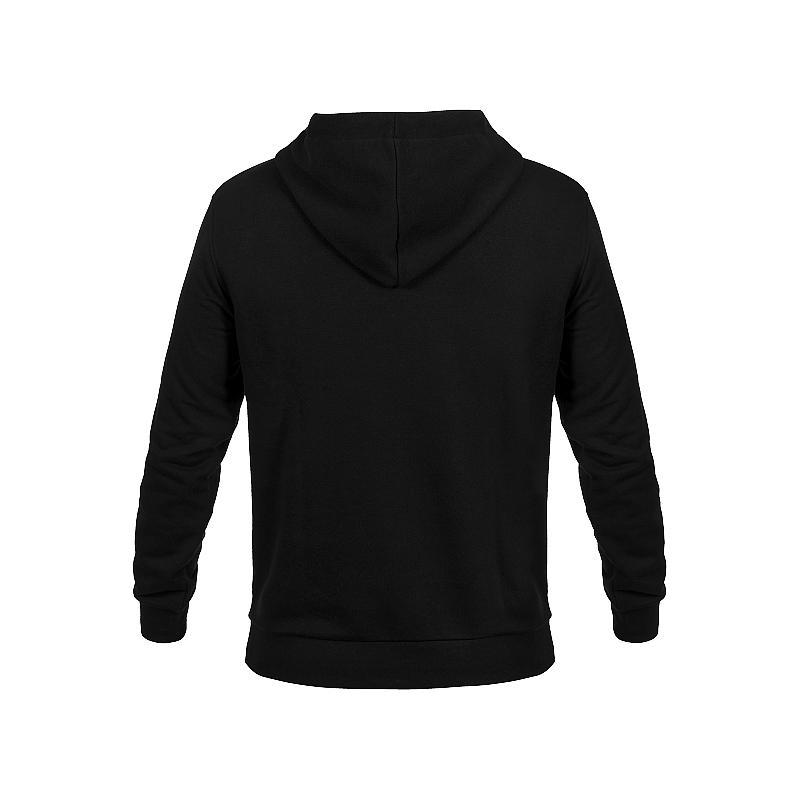 Sweat à capuche zippé VR46 Core noir - 1