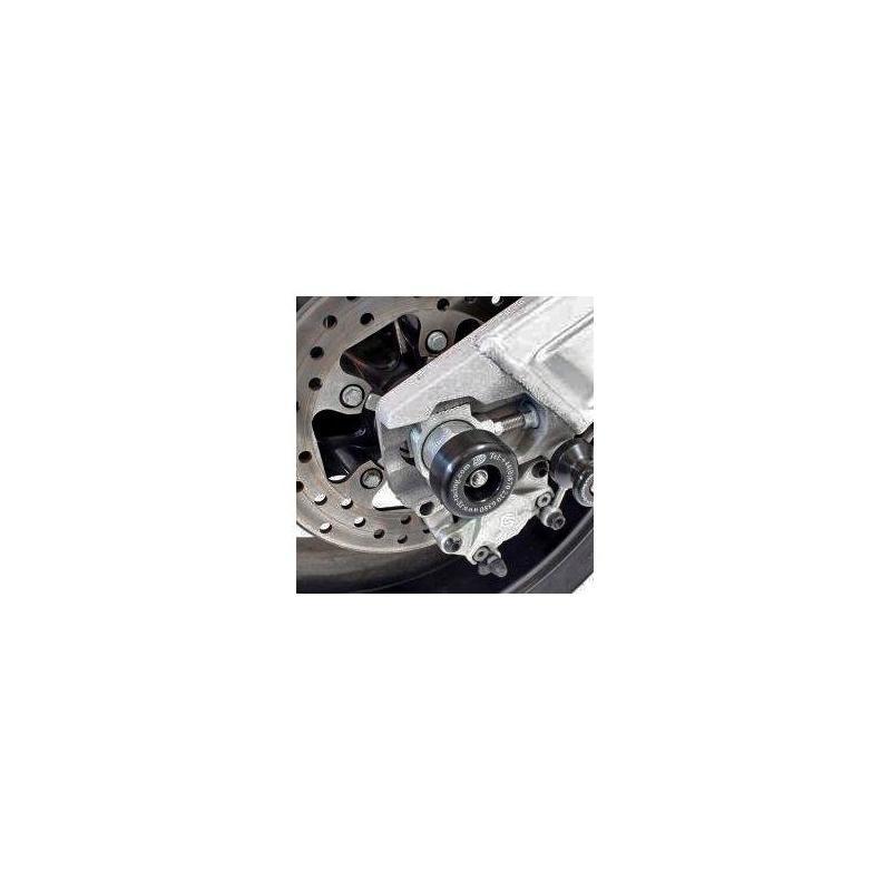 Tampons de bras oscillant R&G Racing noir KTM RC8 08-14