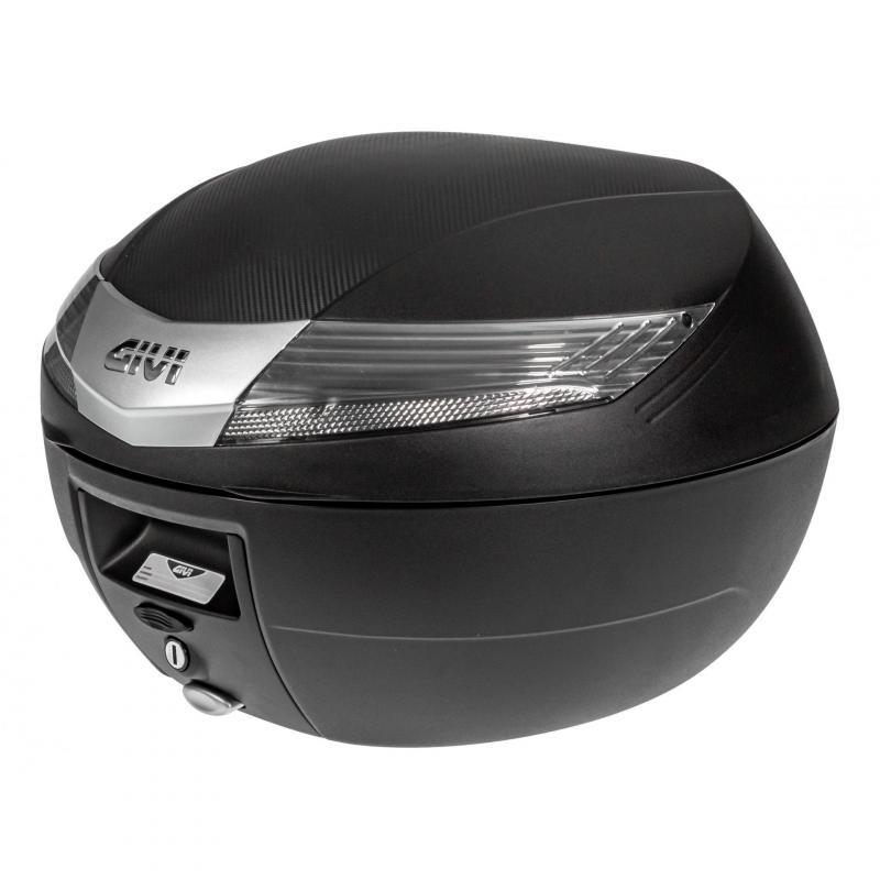 Top case Givi V40 Monokey 40L catadioptres fumés noir
