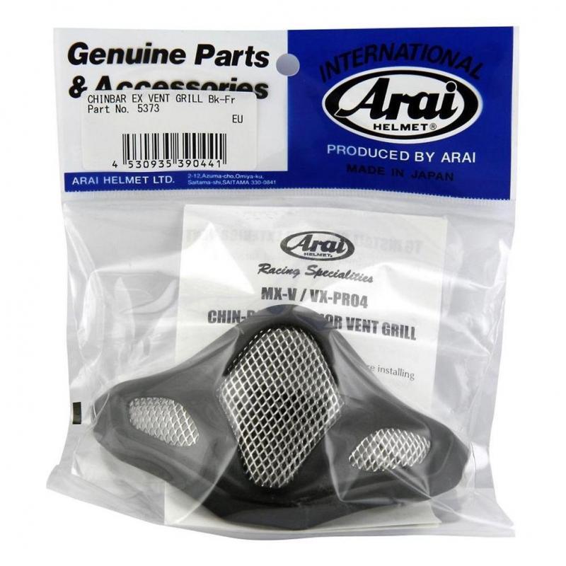 Ventilation de mentonnière Arai pour casque MX V frost black