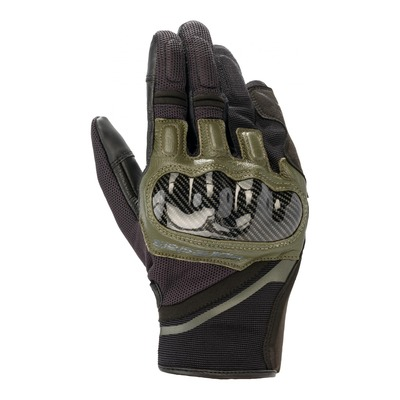 Gants textile Alpinestars Chrome noir forest