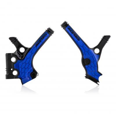 Protection de cadre Acerbis X-Grip Yamaha 85 YZ 19-20 noir/bleu