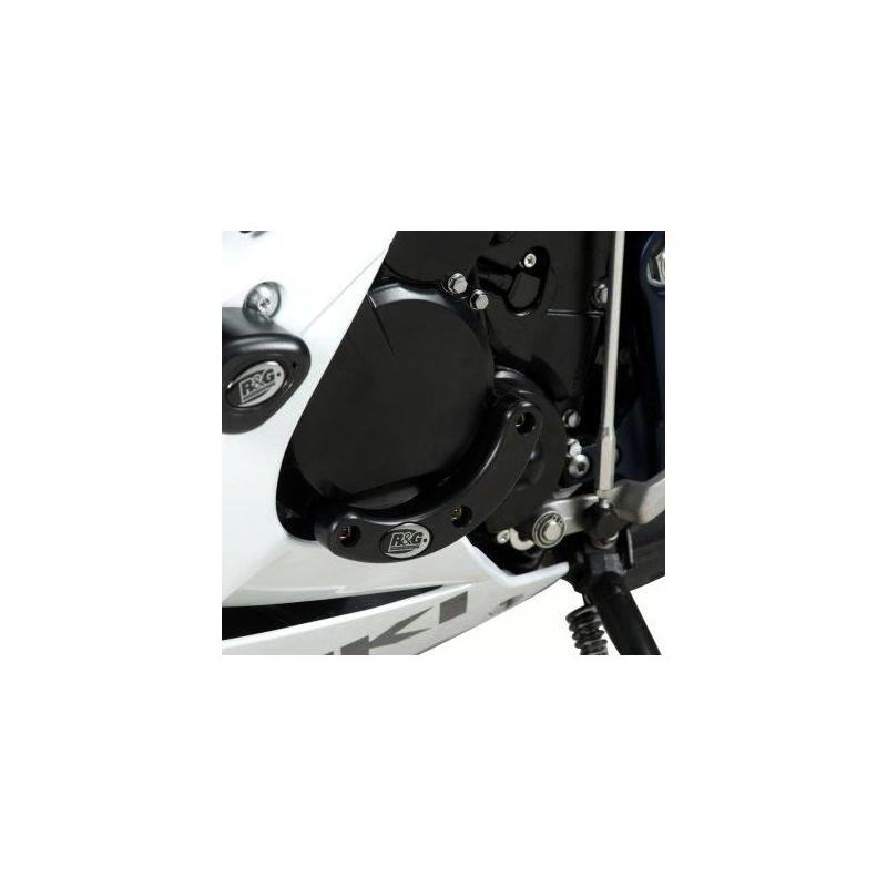 Slider moteur gauche R&G Racing noir Suzuki GSX-R 1000 09-16