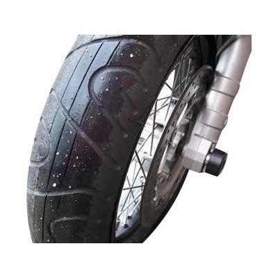 Tampons de protection de fourche R&G Racing noirs Honda XR 650 00-07