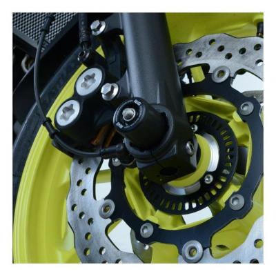 Tampons de protection de fourche R&G Racing noir Yamaha MT-07 18-20