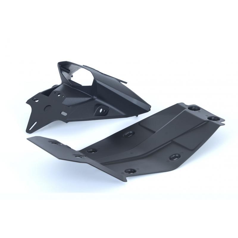 Support de plaque d'immatriculation R&G Racing noir KTM Duke 390 13-16 - 4