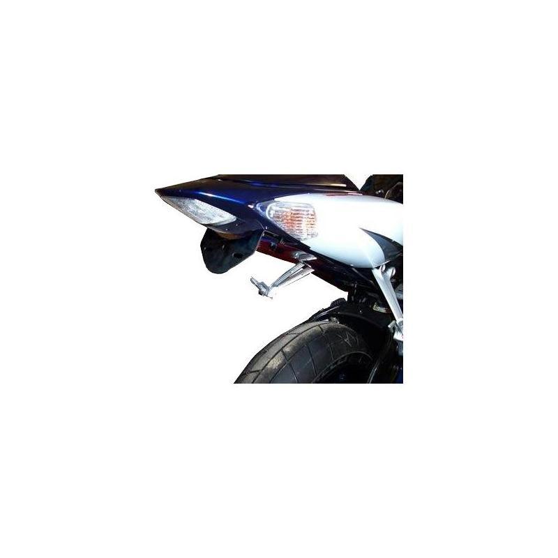 Support de plaque d'immatriculation R&G Racing noir Harley Davidson XR 1200 10-12