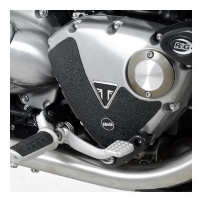 Adhésif anti-frottements R&G Racing noir moteur Triumph Bonneville Bobber 17-18