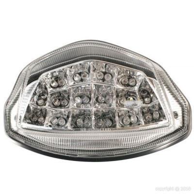 Feu arrière à LED avec clignotants intégrés pour Suzuki GSR 750 11-16