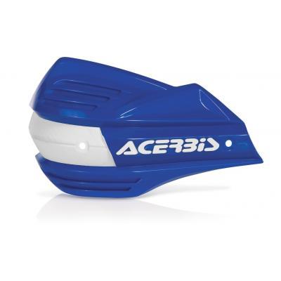 Plastiques de remplacement Acerbis pour protège-mains X-Factor bleu (paire)