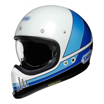 Casque intégral Shoei EX-Zero Equation TC-11 bleu/blanc