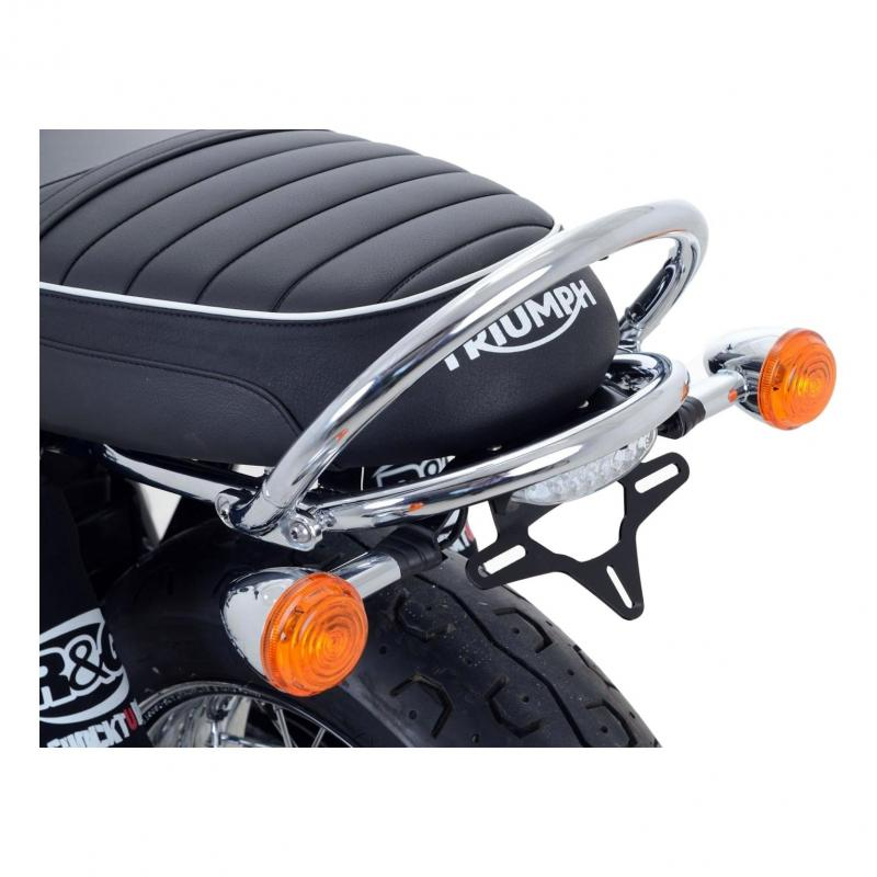 Support de plaque d'immatriculation R&G Racing noir Yamaha MT-03 660 06-13