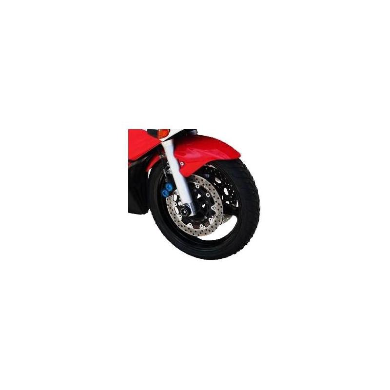 Tampons de protection de fourche R&G Racing noirs Kawasaki Z 1000 10-13