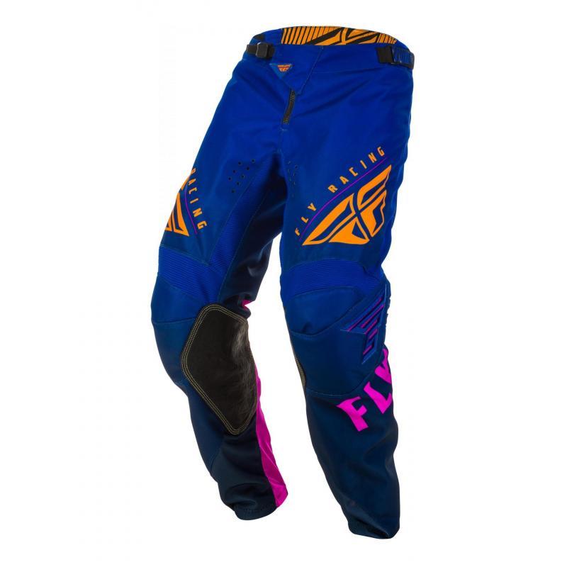 Pantalon cross Fly Racing Kinetic K220 midnight/bleu/orange