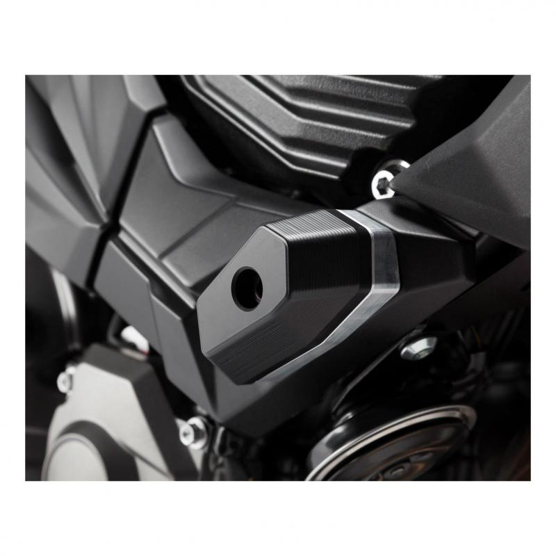 Kit de tampons de protection SW-MOTECH noir Kawasaki Z 800 13-