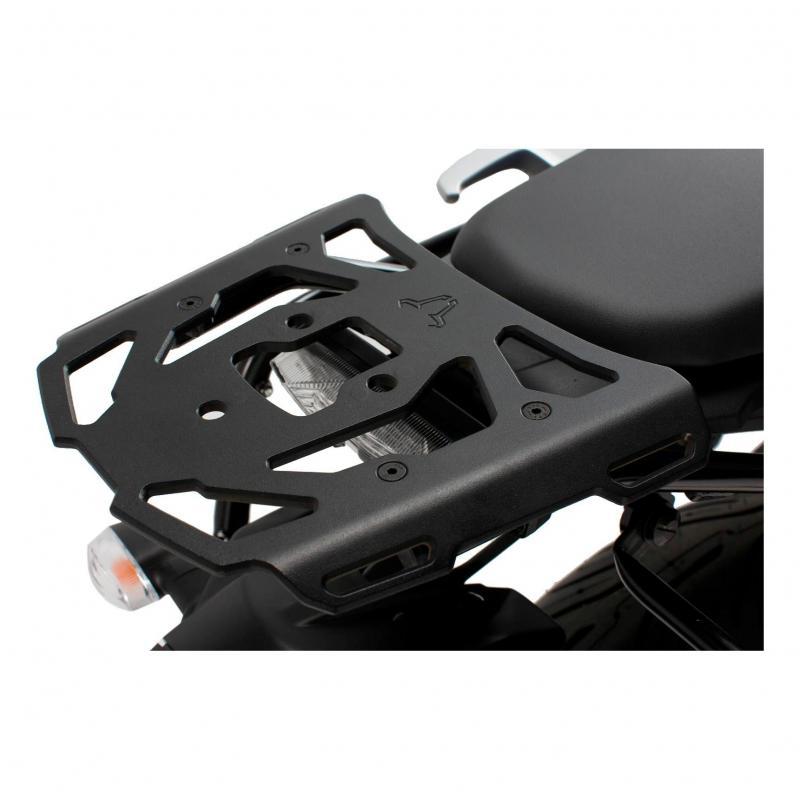 Support top case SW-MOTECH ALU-RACK noir Yamaha MT-07 Tracer 16-