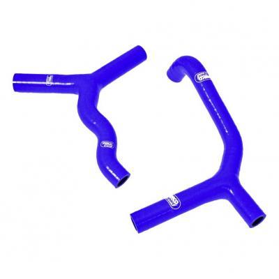 Durites de radiateur Samco Sport type origine KTM 250 SX 11-16 bleu (3 durites)