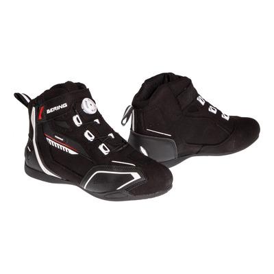 Baskets moto Bering Walter noir/blanc/rouge
