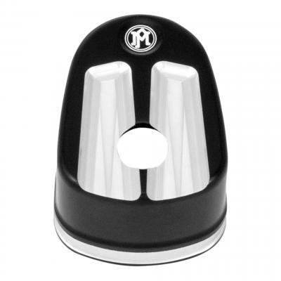 Cache bouton ignition Performance Machine Harley Davidson Electra-Glide 07-13 standard noir/alu