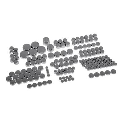 Caches boulons Drag Specialties kit Deluxe Harley Davidson Softail Standard 00-08 chrome