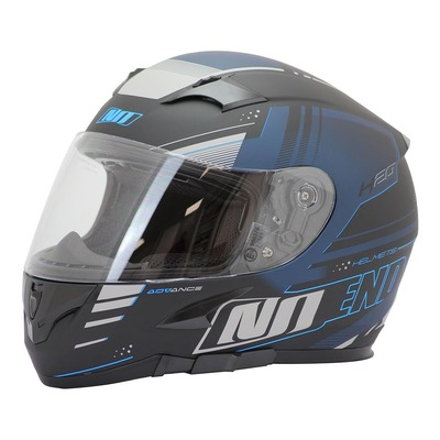 Casque intégral Noend H20-Advance by ASD Racing noir/bleu