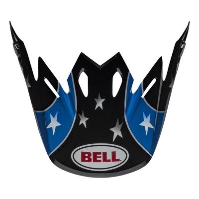 Casquette de casque cross Bell Moto-9 Tomac noir/bleu