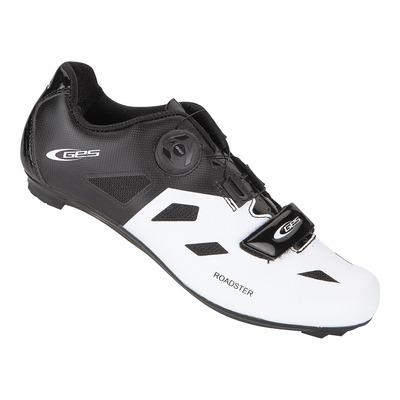 Chaussures vélo route GES Roadster jaune noir/blanc