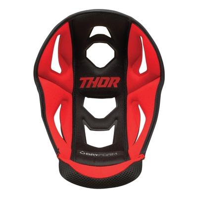 Coiffe de casque Thor Reflex rouge