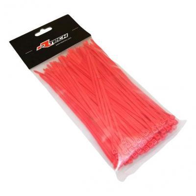Collier de serrage nylon 3,6x180 mm RTech rouges
