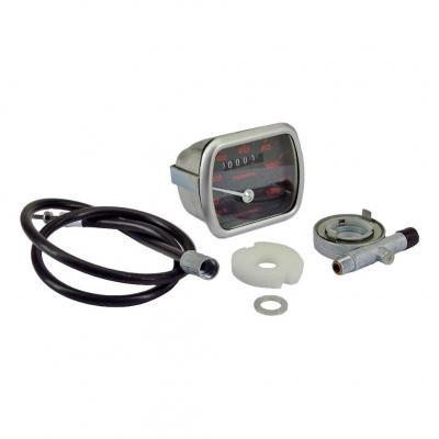 Compteur peugeot MVL Rectangulaire 110km/h Complet (type origine)