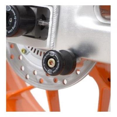 Diabolos de bras oscillant R&G Racing noir Ø M 8 mm Honda CBR 600 RR 07-16