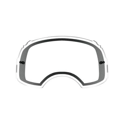 Double écran ventilé Oakley Airbrake Plutonite transparent