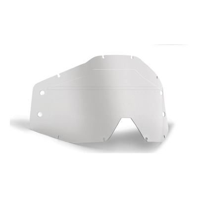 Écran de remplacement FMF Vision pour masque PowerBomb Roll-off clair