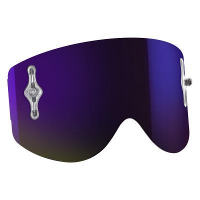 Écran Works Scott pour masque Recoil et 80 chrome violet