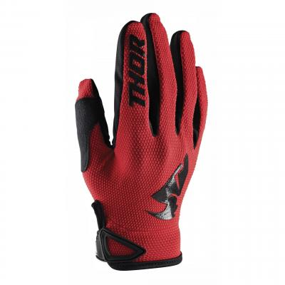Gants cross enfant Thor Sector rouge