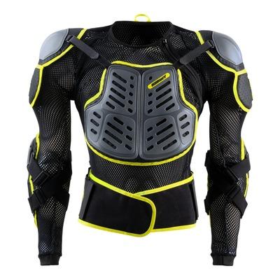 Gilet de protection Kenny Track noir/gris/jaune fluo (Homologation FFM)