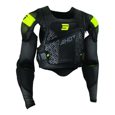 Gilet de protection Shot Ultralight 2.0 noir/jaune (Homologation FFM)
