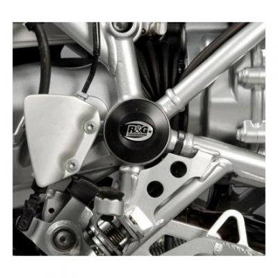 Insert de cadre droit R&G Racing noir BMW R 1200 GS 04-12