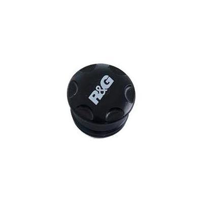 Insert de cadre R&G Racing droit ou gauche noir Kawasaki Ninja H2 SX 18-20