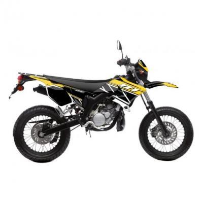 Kit déco Kutvek Replica MBK Xlimit / Yamaha DT 07-11 jaune
