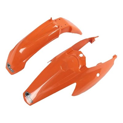 Kit garde-boue avant et arrière UFO KTM 85 SX 04-10 orange (couleur origine)