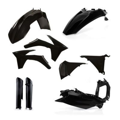 Kit plastiques complet Acerbis KTM EXC/EXCF 12-13 noir