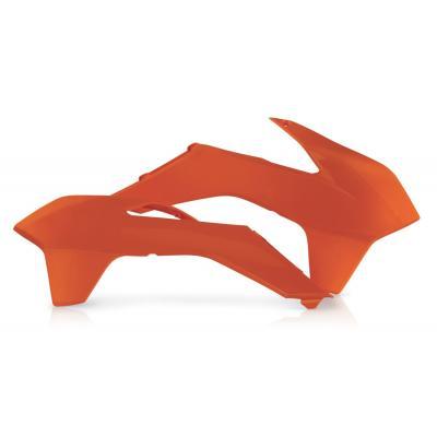 Ouïes de radiateur Acerbis KTM 400/450 EXC 14-16 orange (paire)