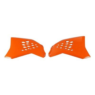 Ouïes de radiateur UFO KTM 65 SX 09-15 orange (orange KTM 98-12)