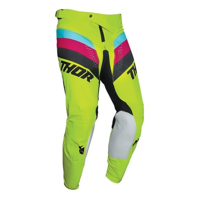 Pantalon cross Thor Pulse Racer acid/noir