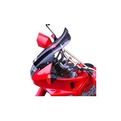 Pare-brise Bullster haute protection 41 cm fumé gris Honda NX 650 Dominator 88-91